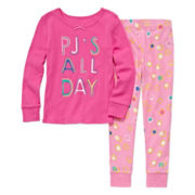 Okie Dokie® PJs All Day 2-pc. Sleep Pants Set - Preschool Girls 4-6x
