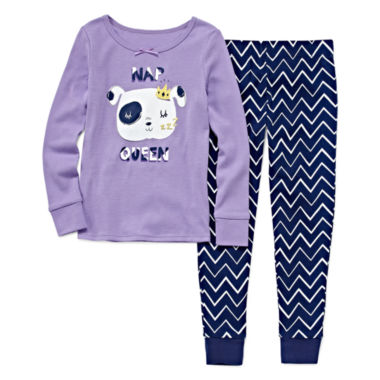 jcpenney.com | Okie Dokie® Nap Queen 2-pc. Sleep Pants Set - Preschool Girls 4-6x