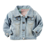 Carter's® Denim Jacket - Baby Girls newborn-24m