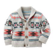 Carter's® Aztec Print Sweater - Baby Boys newborn-24m