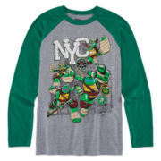 Teenage Mutant Ninja Turtles Long-Sleeve Raglan Tee - Boys 8-20