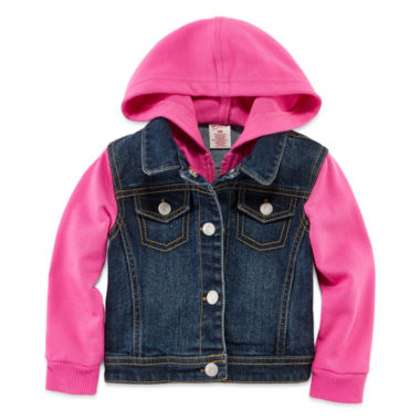 jcpenney.com | Arizona Denim Swacket - Baby Girls 3m-24m