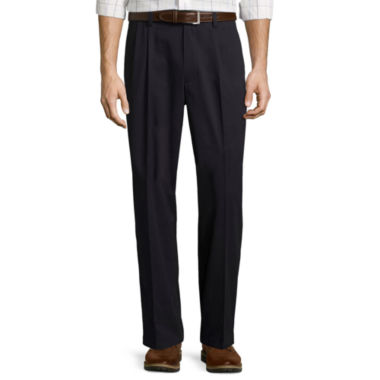jcpenney.com | St. John's Bay® Easy-Care Pleat-Front Pants