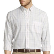 Dockers® Long-Sleeve Patterned Sportshirt