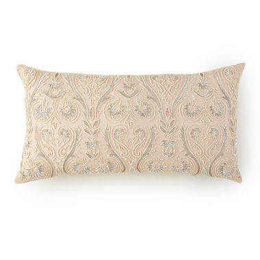 jcpenney.com | Alexandria Oblong Beaded Decorative Pillow