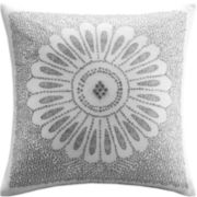 INK+IVY Sofia Square Embroidered Decorative Pillow