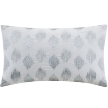 jcpenney.com | INK+IVY Nadia Dot Oblong Embroidered Decorative Pillow
