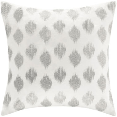 jcpenney.com | INK+IVY Nadia Dot Square Embroidered Decorative Pillow