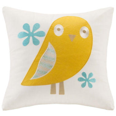 jcpenney.com | INK+IVY Kids Agatha Square Embroidered Decorative Pillow