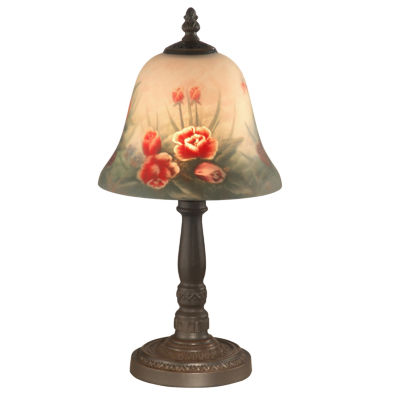 Dale Tiffany Rose Bell Accent Lamp Color Multi Jcpenney