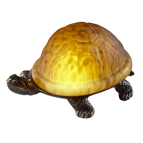 Dale Tiffany™ Amber Turtle Accent Lamp