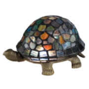 Dale Tiffany™ Blue Turtle Accent Lamp