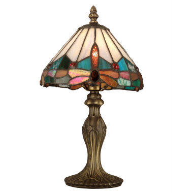 jcpenney.com | Dale Tiffany™ Roseate Mini Lamp