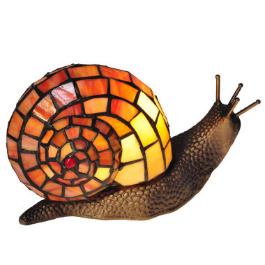 jcpenney.com | Dale Tiffany™ Tiffany Snail Accent Lamp
