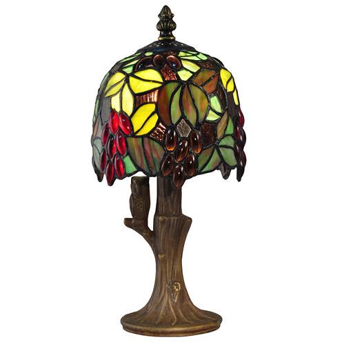 Dale Tiffany™ Grape Vine Mini Lamp