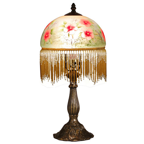 Dale Tiffany™ Pansy Beaded Table Lamp