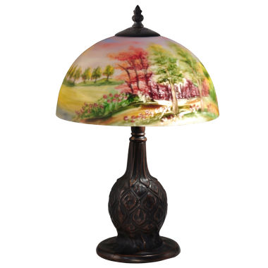 jcpenney.com | Dale Tiffany™ Trees Hand-Painted Table Lamp