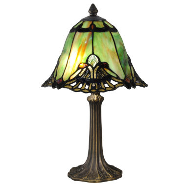 jcpenney.com | Dale Tiffany™ Green Haiawa Mini Lamp
