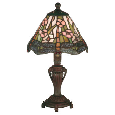 jcpenney.com | Dale Tiffany™ Dragonfly Accent Lamp