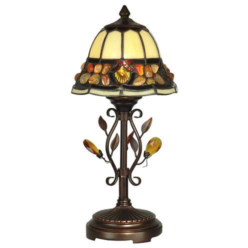 Dale Tiffany™ Pebblestone Accent Lamp