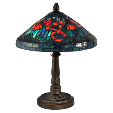 jcpenney.com | Dale Tiffany™ Poppy Mini Lamp