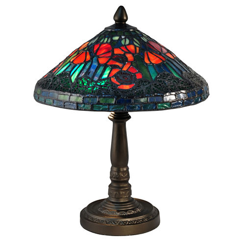 Dale Tiffany™ Poppy Mini Lamp