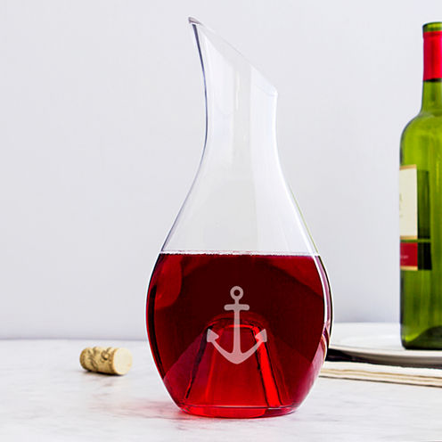 Cathy's Concepts Aerating Anchor 30-oz. Wine Decanter
