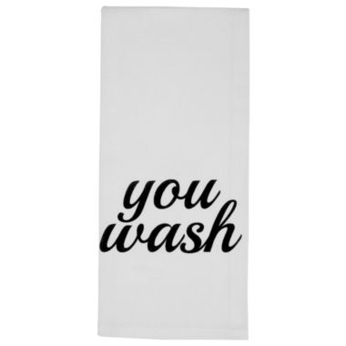 jcpenney.com | Metro Farmhouse By Park B. Smith® You Wash, I'll Dry Set of 2 Kitchen Towels