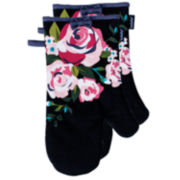Ladelle® Ava Set of 2 Oven Mitts