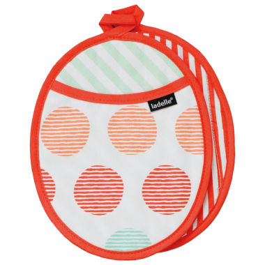 jcpenney.com | Ladelle® Aria Set of 2 Pot Holders