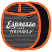 Ladelle® Café Latte Set of 2 Pot Holders