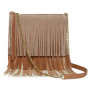 Arizona Fringe Tiered Crossbody Bag