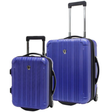 jcpenney.com | Traveler's Choice® New Luxembourg 2-pc. Carry-On Hardsided Luggage Set