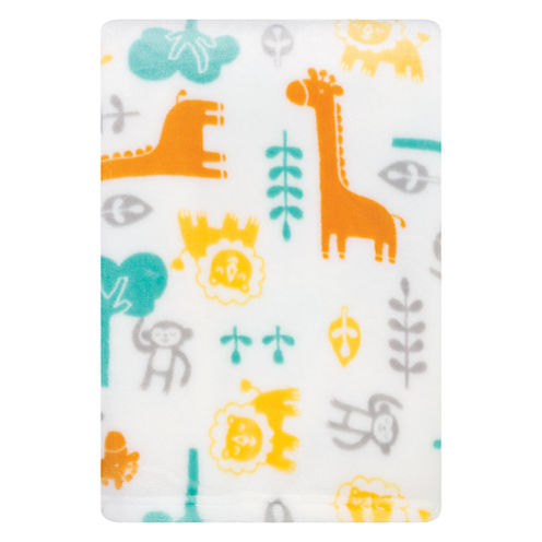 Trend Lab Lullaby Jungle Receiving Blanket
