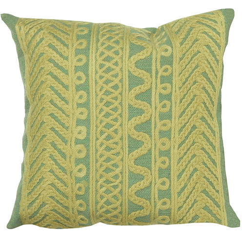 Liora Manne Visions Ii Celtic Grove Square Outdoor Pillow