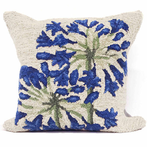 Liora Manne Frontporch Desert Lily Square Outdoor Pillow