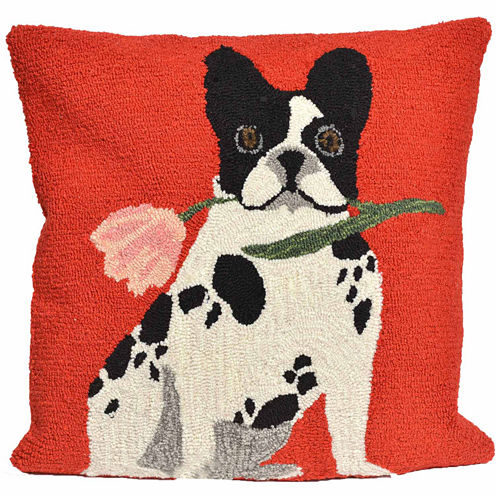 Liora Manne Frontporch Flowery Frenchy Square Outdoor Pillow