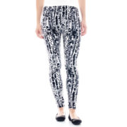 Mixit™ Black and White Knit Leggings