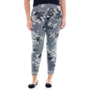 Mixit™ Floral Print Knit Leggings - Plus