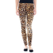 Mixit™ Leopard Print Knit Leggings