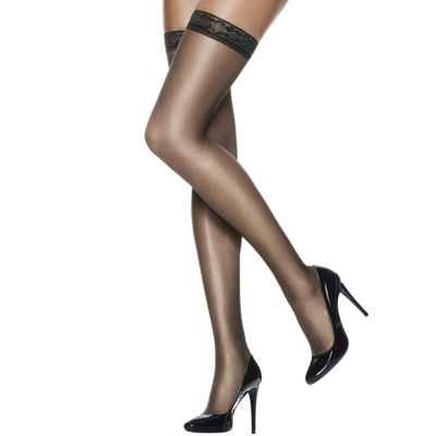 f0d7b23cdb3 Hanes® Silk Reflections® Silky Sheer Thigh-High Hosiery