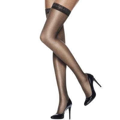 526944823be04 Hanes® Silk Reflections® Silky Sheer Thigh-High Hosiery