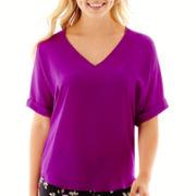 Decree® Short-Sleeve Woven T-Shirt