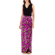 Worthington® Tank Blouse with Metal Hardware or Gathered-Front Maxi Skirt - Tall
