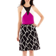 Worthington® Colorblock Halter Top or A-Line Skirt - Tall