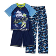 Jelli Fish Kids 3-pc. Shark Pajama Set - Boys 4-16