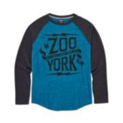 Zoo York® Long-Sleeve Graphic Raglan Tee - Boys 8-20