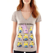 Short-Sleeve Minion Graphic T-Shirt