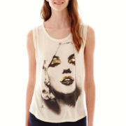 Marilyn Graphic Muscle Tank Top
