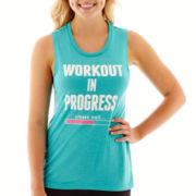 Chin-Up Muscle Tank Top